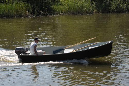 Лодка Комбат 4,3