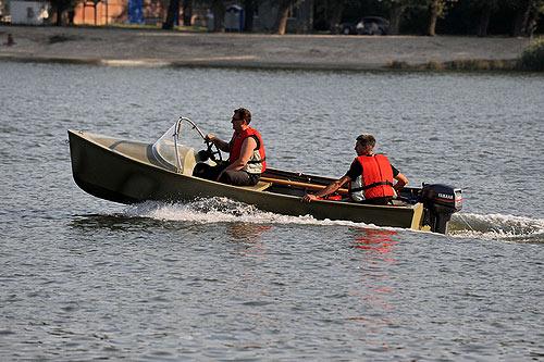 Лодка Комбат 4,3 М